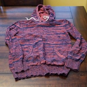 ON THE BYAS COLORFUL HOODIE,  SIZE S